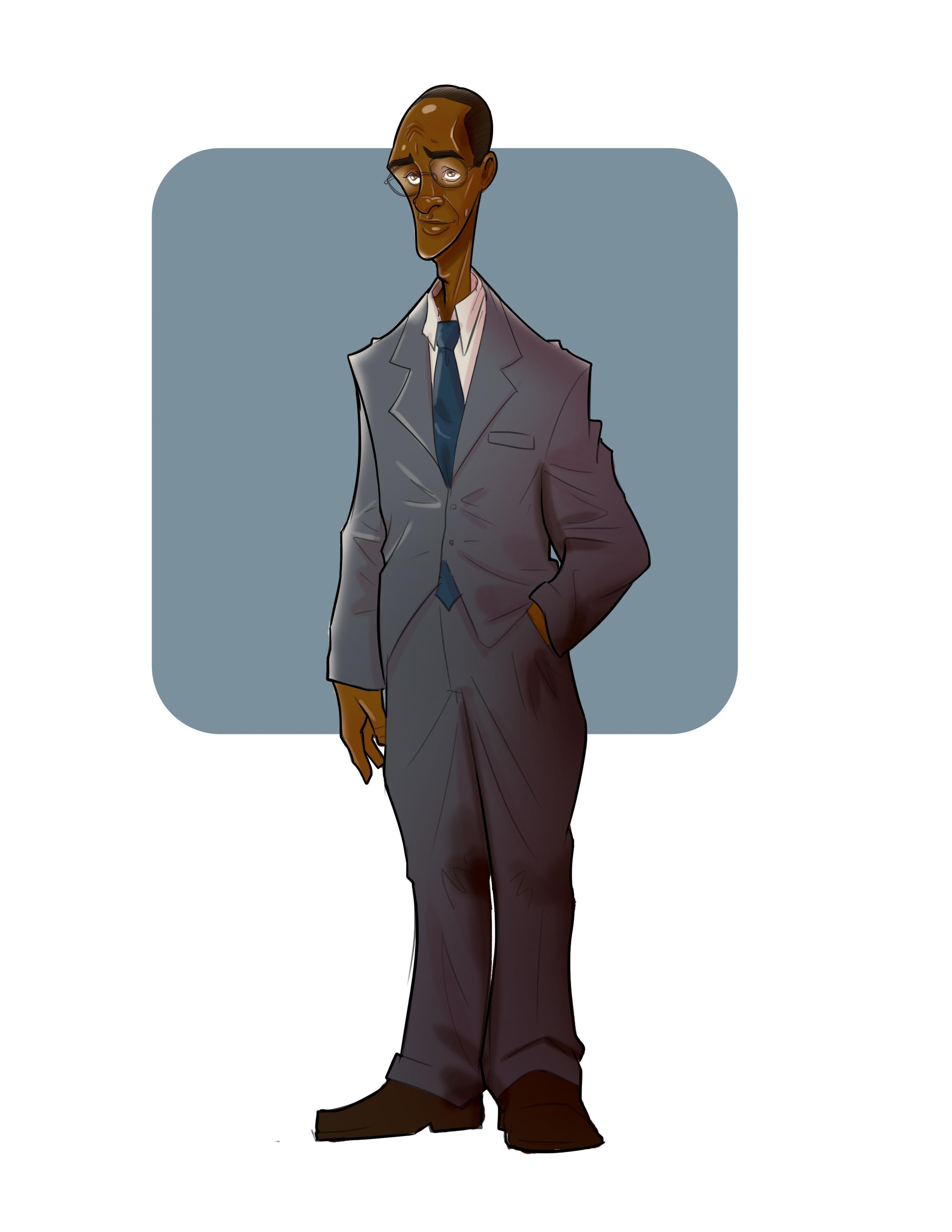 """Everett""   Midnight Massacre Character Design"