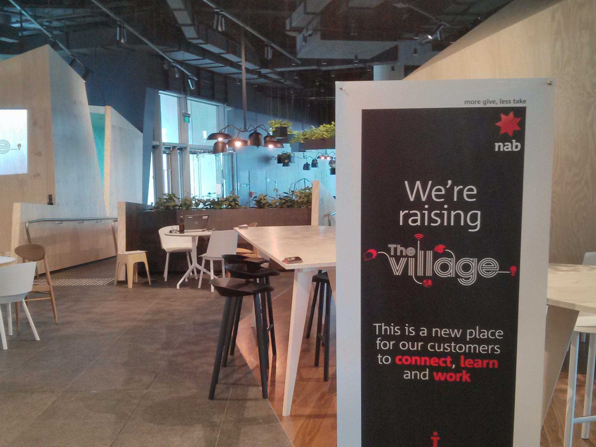 We're raising The Village