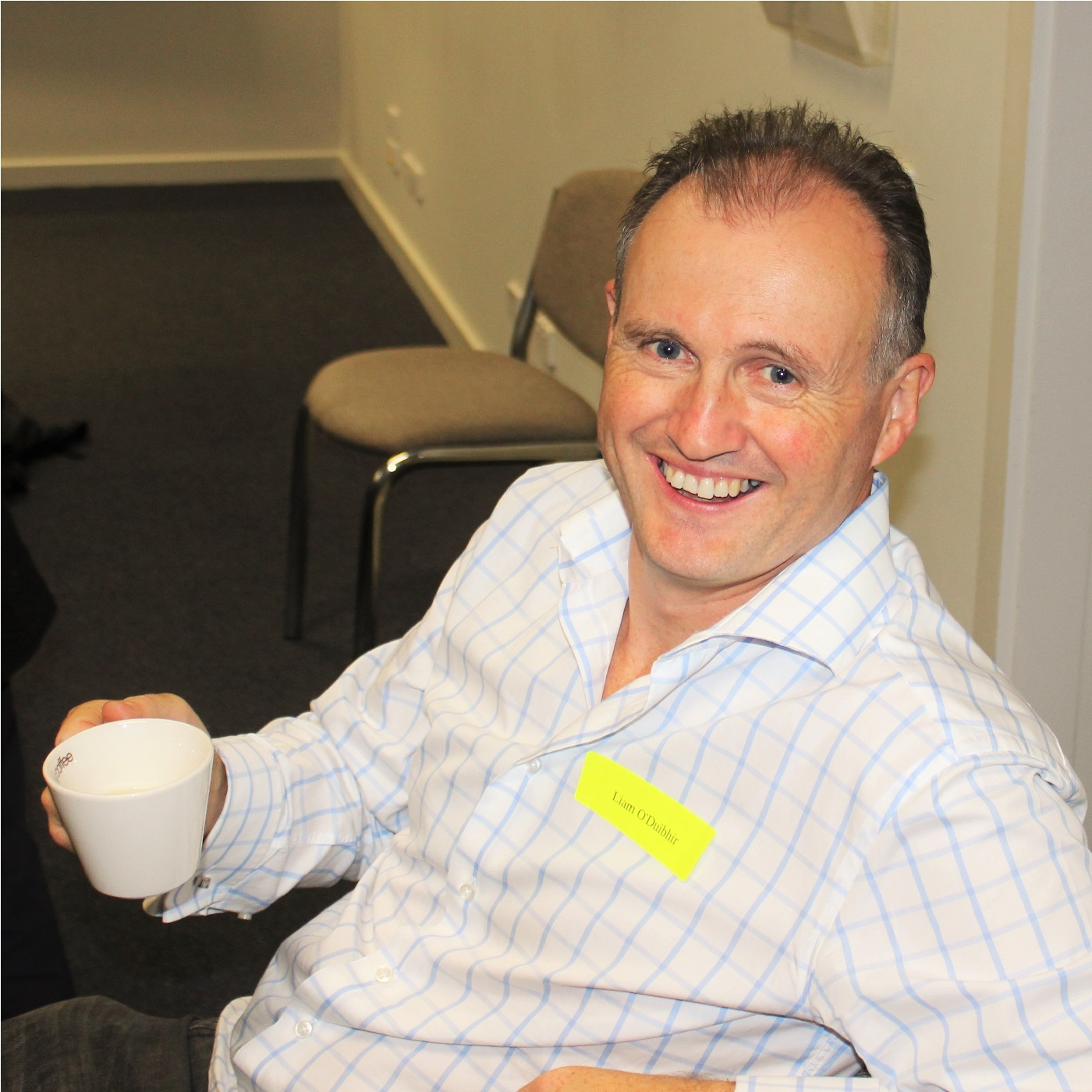 Host of Bega Valley Innovation Week and all round nice guy,Liam O'Duibhir