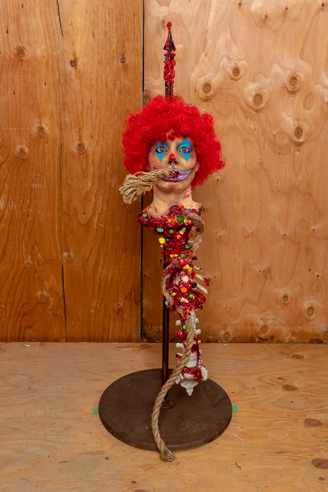 Spiked Candy Clown - $399