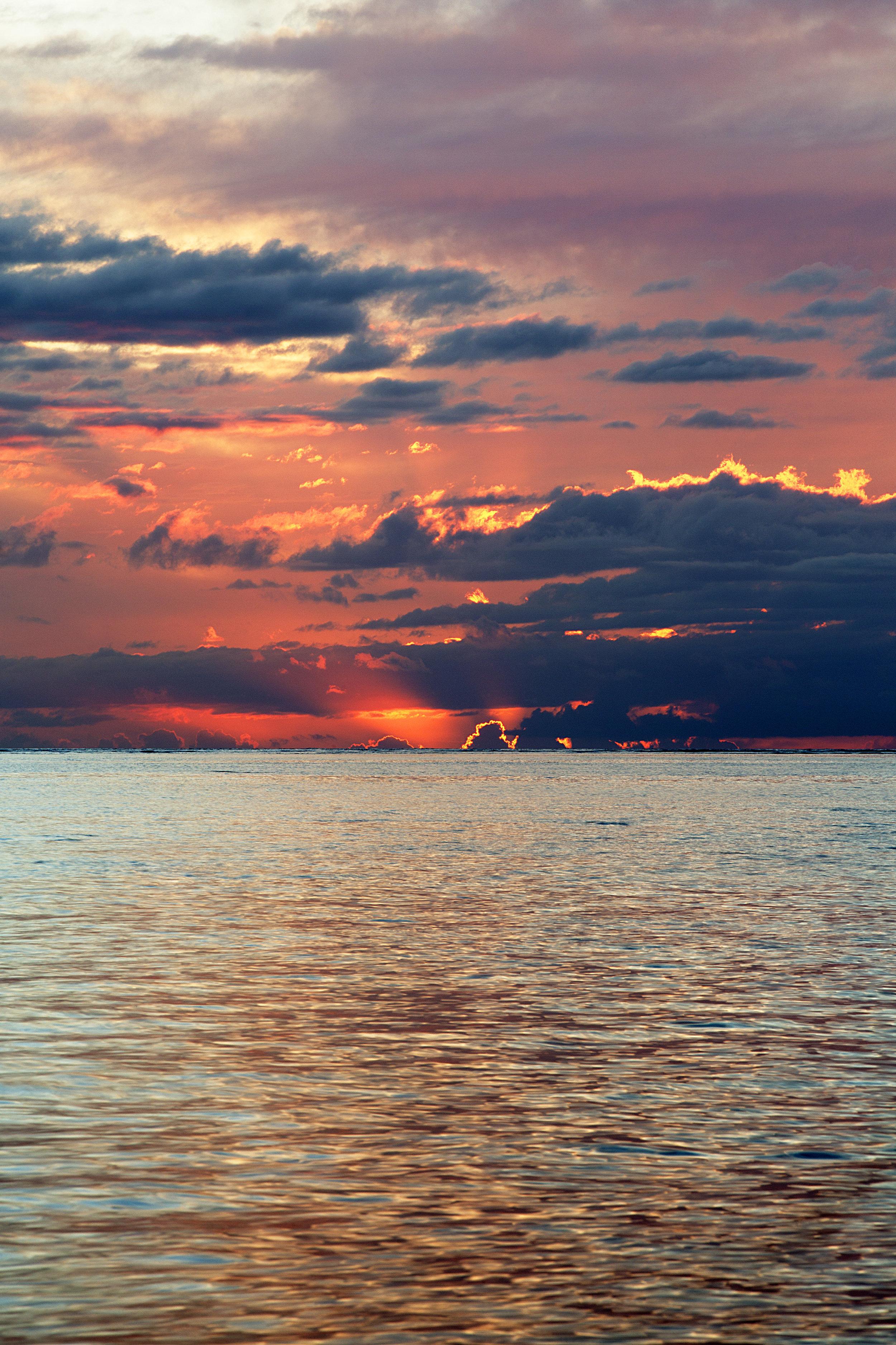 Volcano Sunset