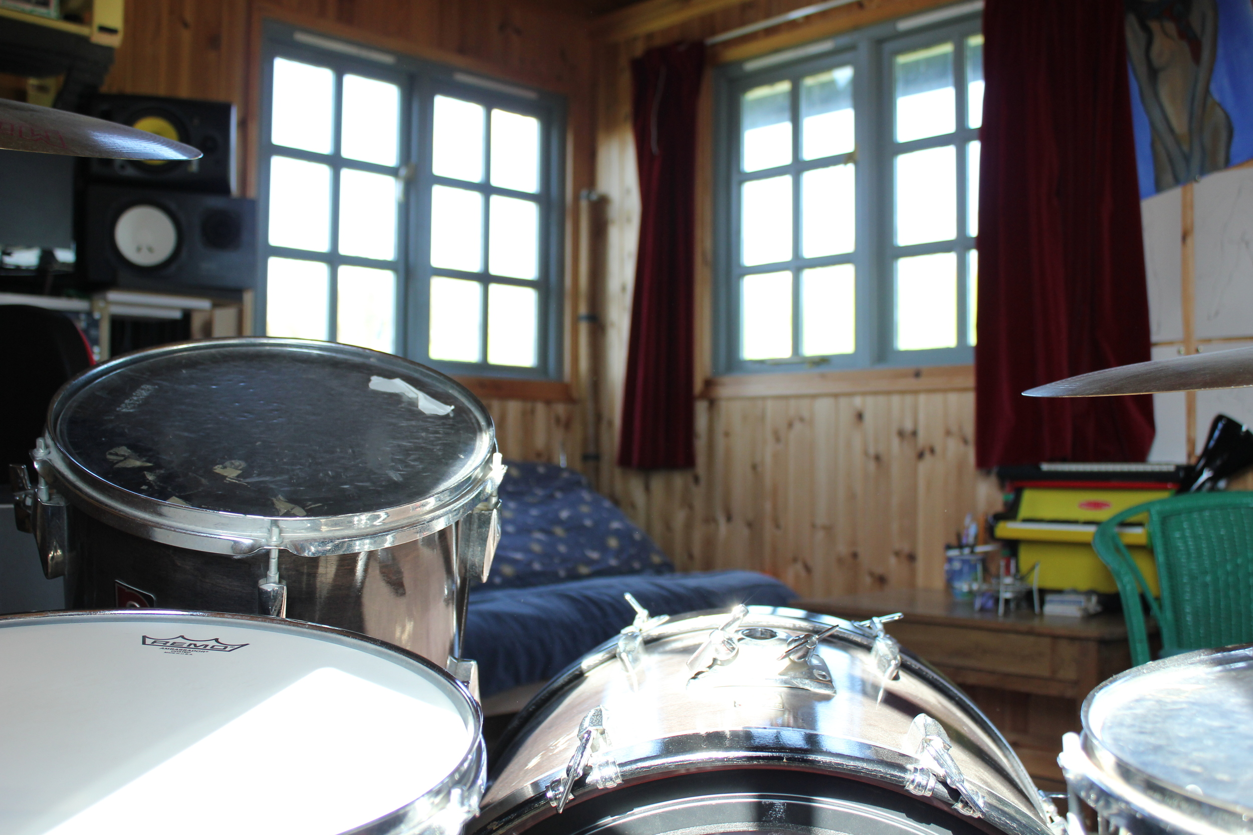A drummer's eye view.