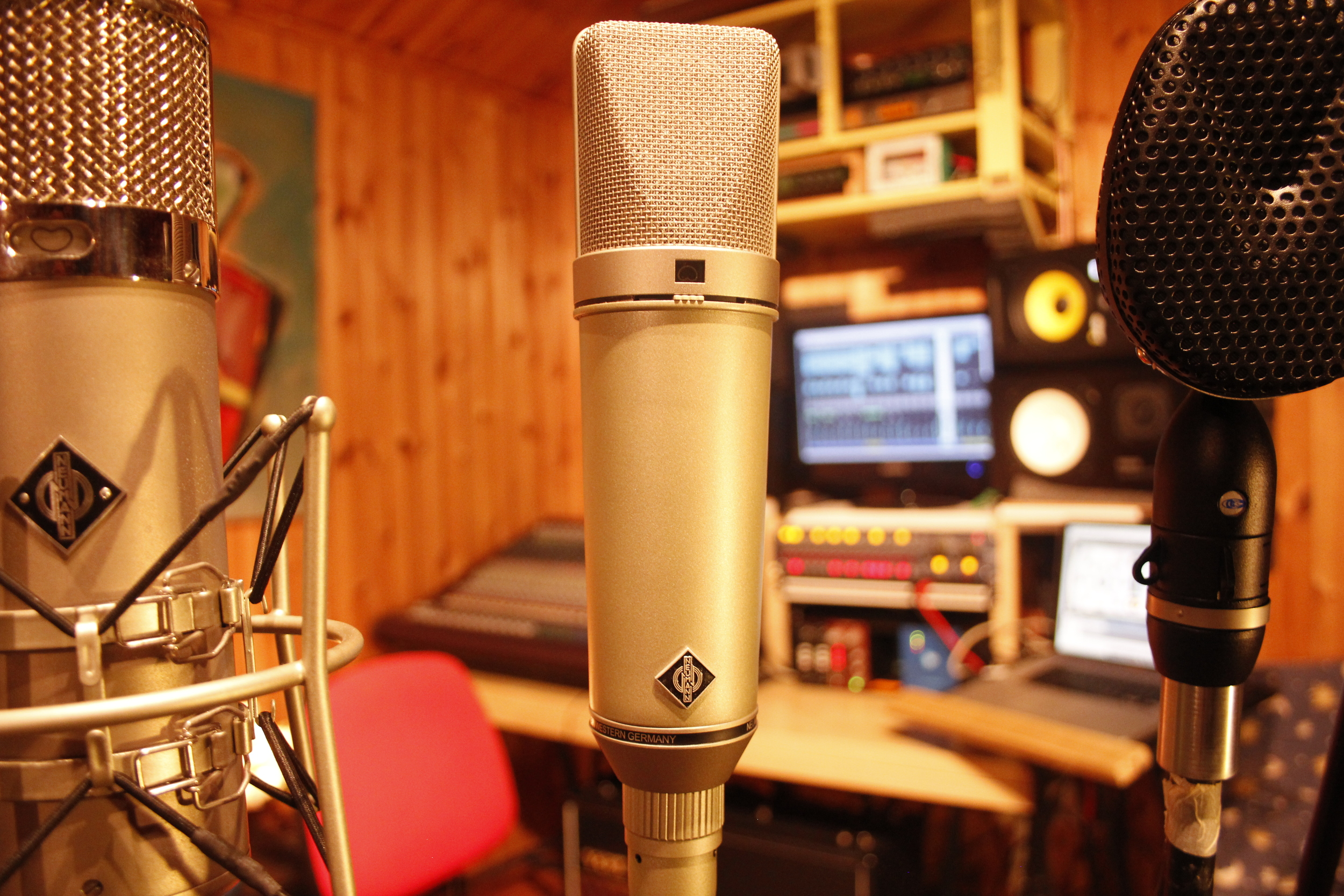 Neumann U67. Everyone from Nirvana to Bob Dylan recorded with one of these.