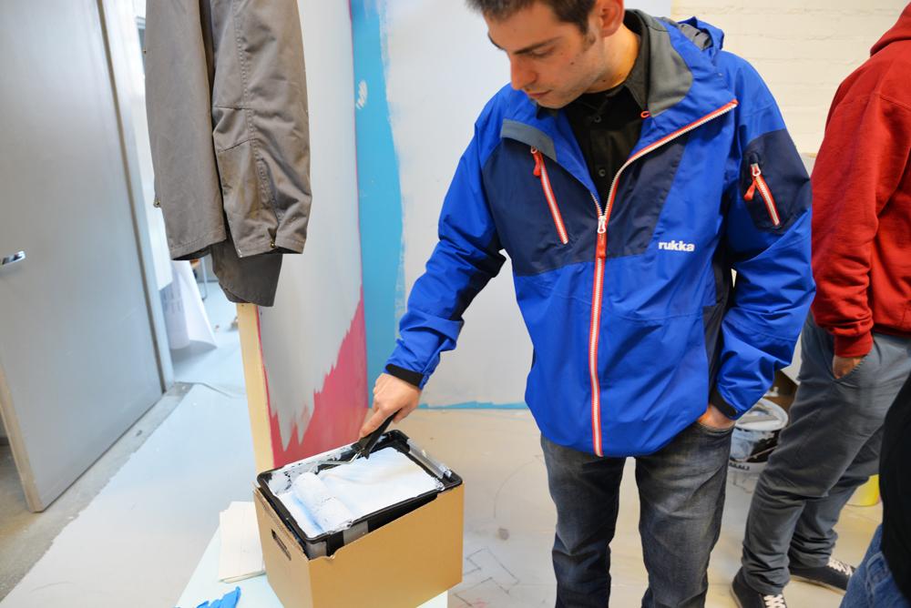 Prototype testing at Aalto University, Helsinki