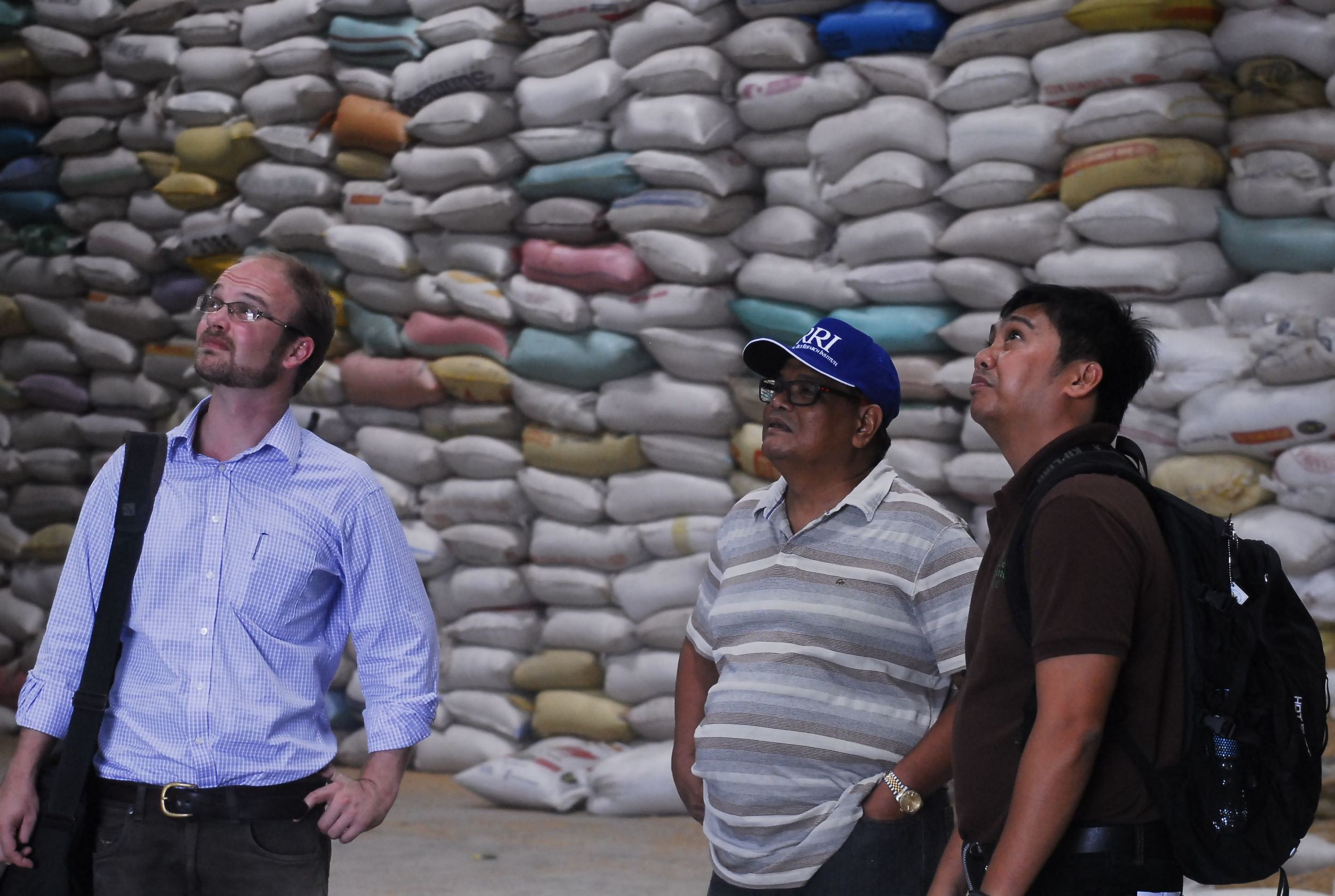 Working with IRRI and rice millers in the Philippines on increasing value chain efficiency.