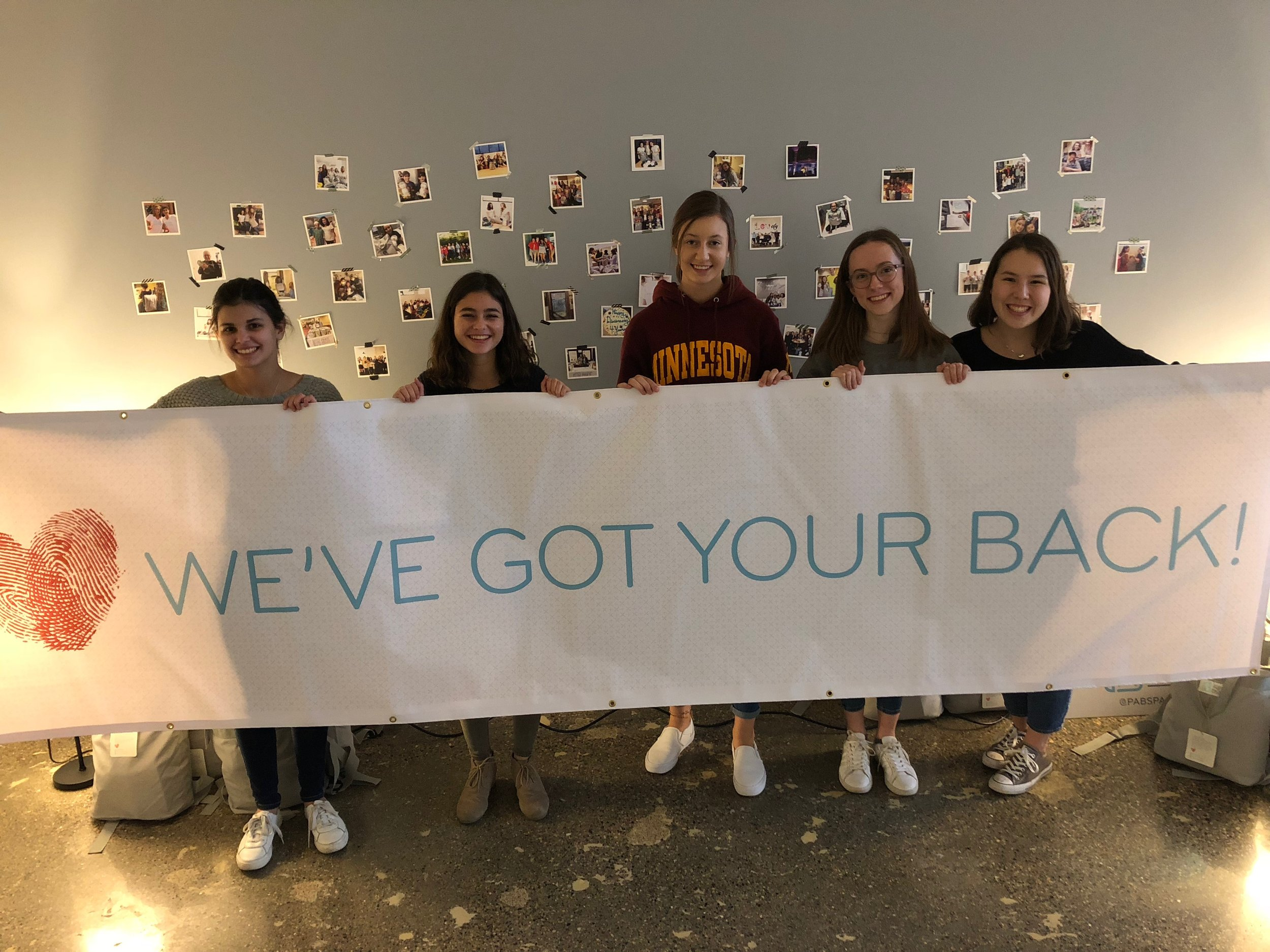 A group of students from Blake Upper School shared a Friday afternoon with us in order to pack 100 PAB'S PACKS to be shipped to hospital partners nationwide.