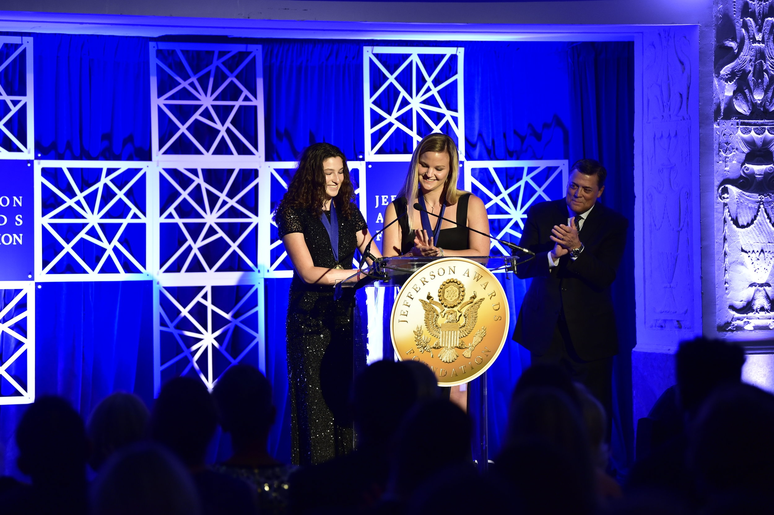 Washington, D.C. (June 5, 2018) –The  Jefferson Awards Foundation , the nation's most prestigious and longest-standing organization dedicated to inspiring and celebrating public service, announced recipients for three of its 2018 national awards. The individuals will receive their awards at the organization's 46th Annual Jefferson Awards D.C. National Ceremony at the Mayflower Hotel in Washington, D.C. on June 28, 2018.  Read more here.