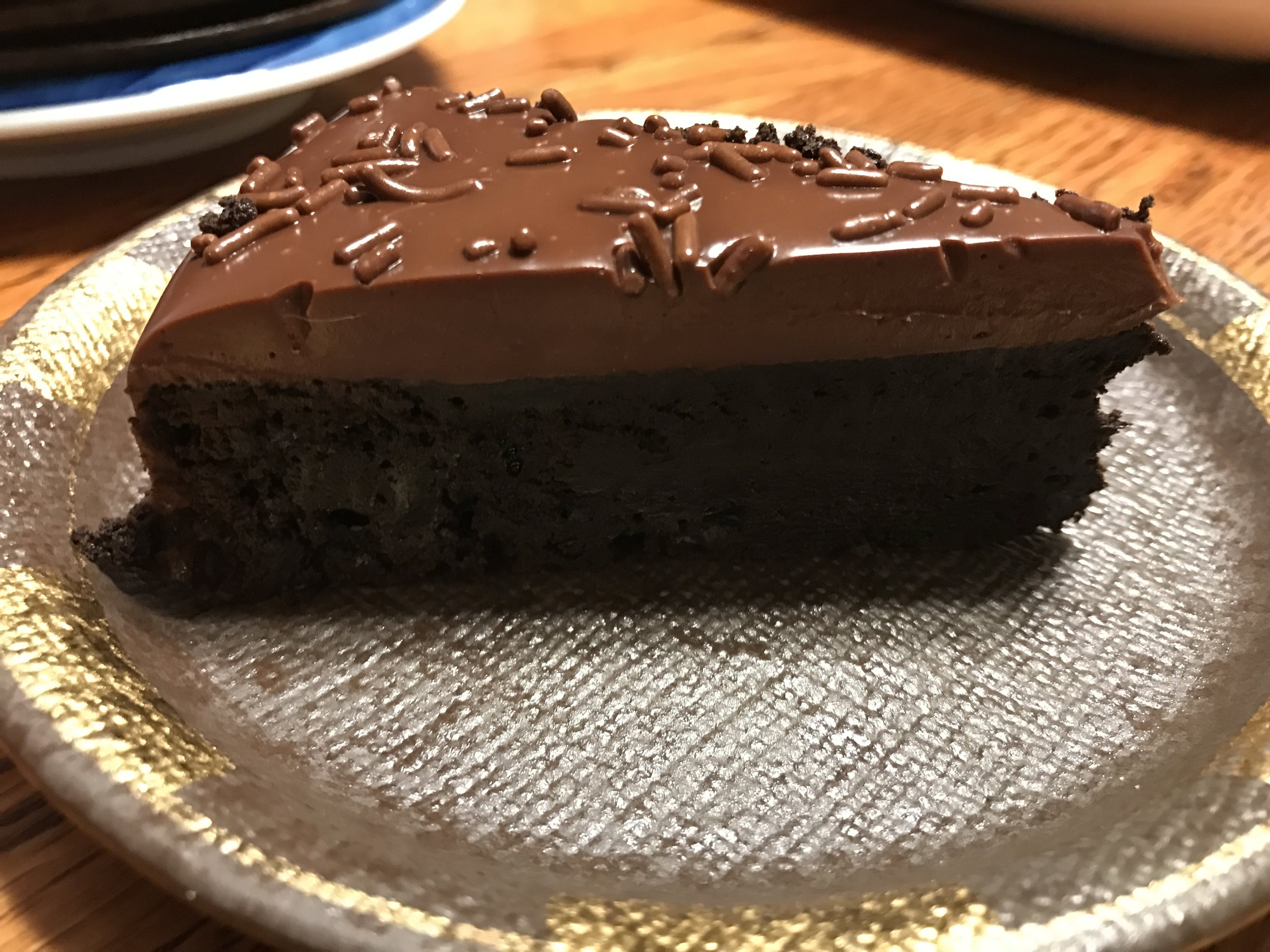 a slice of chocolate heaven