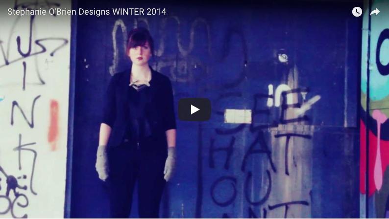 Stephanie O'Brien Designs WINTER 2014 - Video by: Susan O'BrienPromotional Video for Stephanie O'Brien Designs