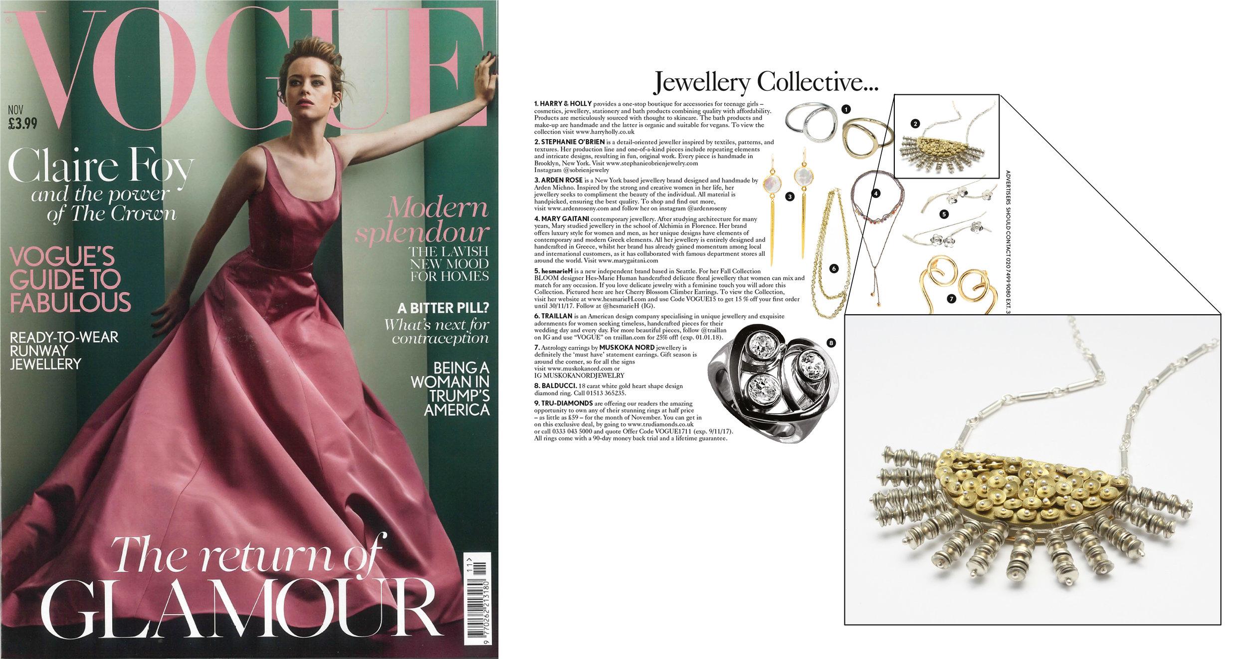 British Vogue Jewellery Collective...,November 2017