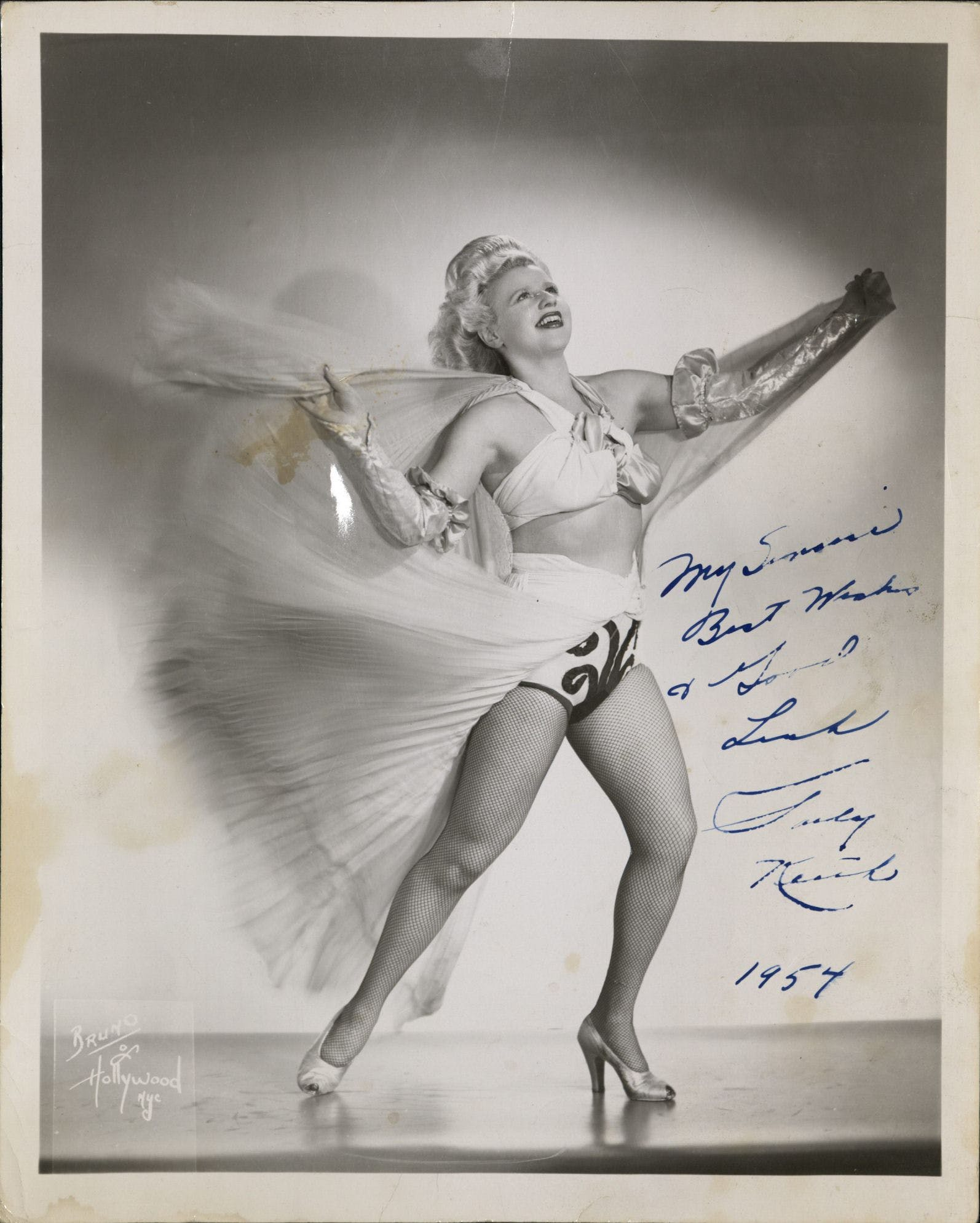 My Great-Aunt Sally Was a Famous Tassel Dancer, but I Keep My Boobs Way Closer to My Chest - My grandfather was one of ten children. His vocation—electrician—landed him right smack in the middle of his siblings' respectability spectrum, which ranged from orthodox rabbi to burlesque dancer. This burlesque dancer was my great aunt Sally, who in the 1940s was an institution at Boston's Scollay Square night club, The Crawford House….[Continue reading]