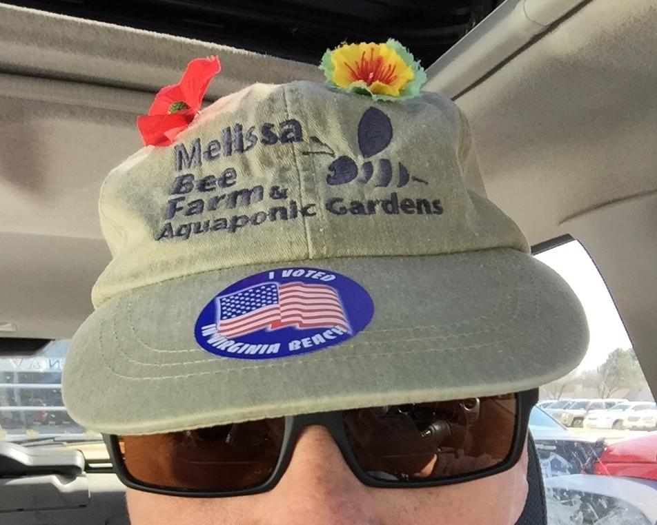 I voted in Virginia Beach