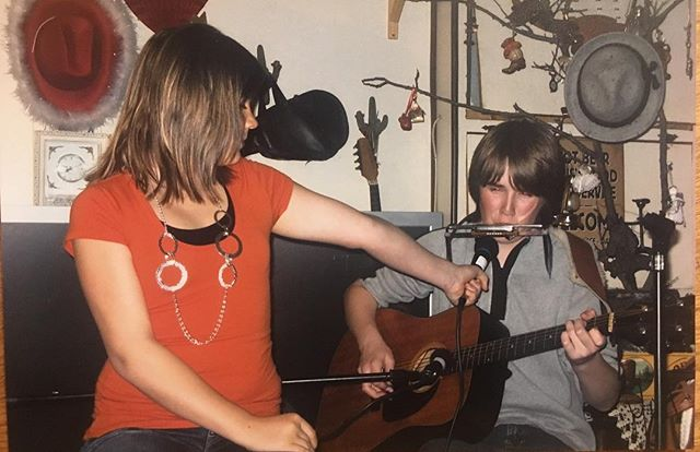 Roughly 10 years ago at the JH Quarter Circle in Wood Mountain, SK.  In other news, we've added a show at Pretentious Beer Co. in Knoxville, TN May 11!