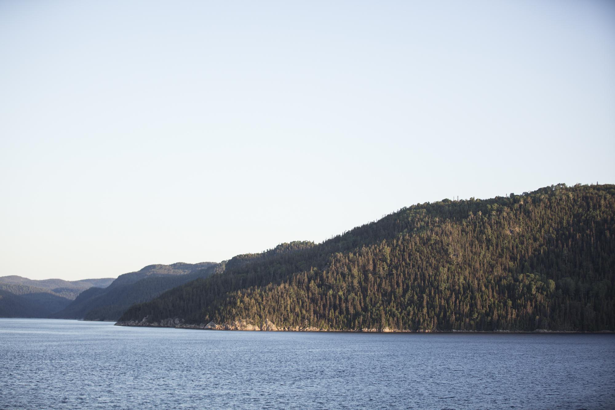 Sunrise landscape shot while on the Beluga boardwalk.