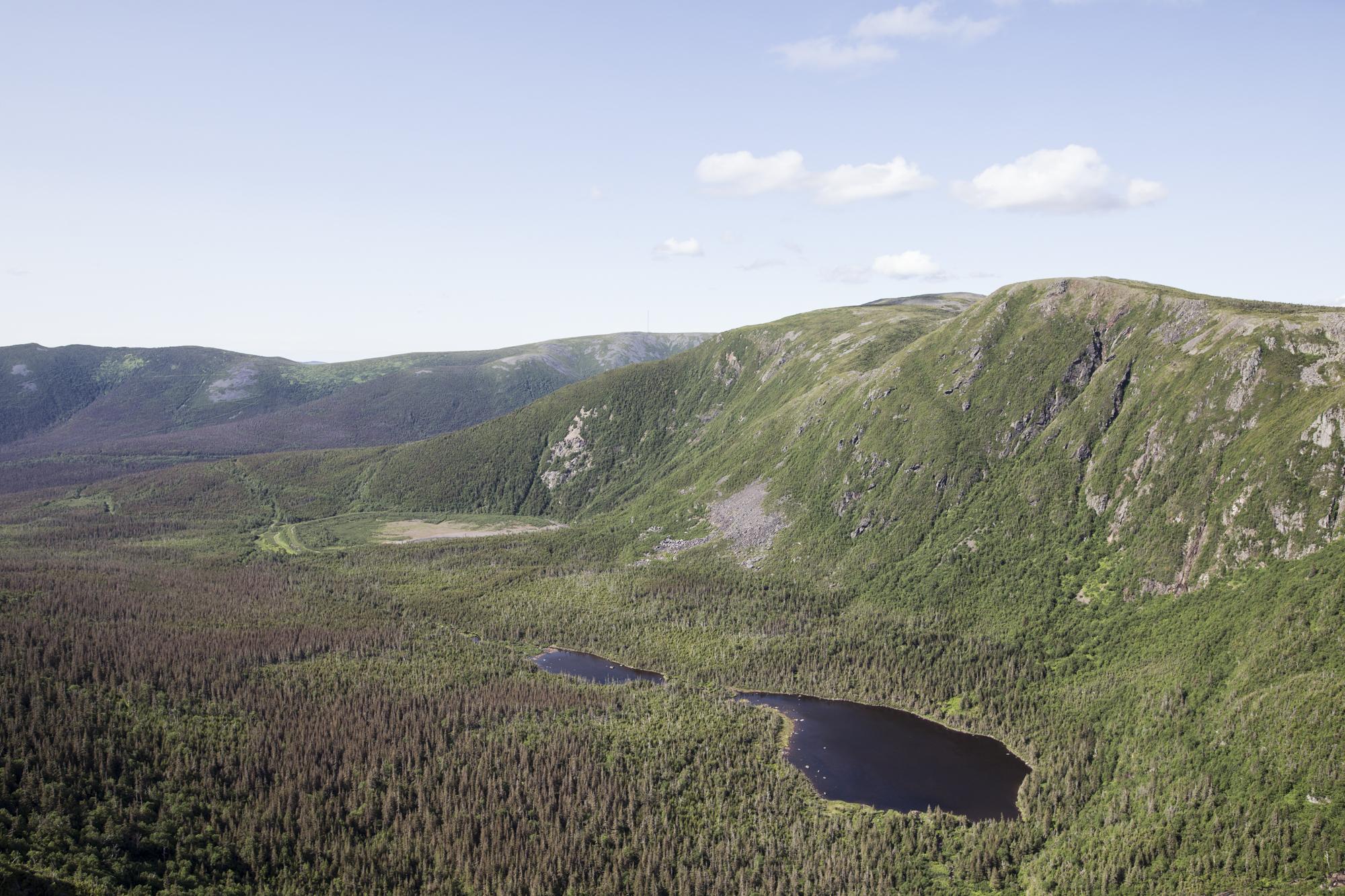 One of my favorite landscape shots taken from Mount Xalibu.