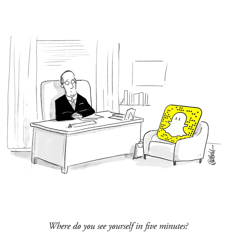 jason chatfield snapchat new yorker cartoon