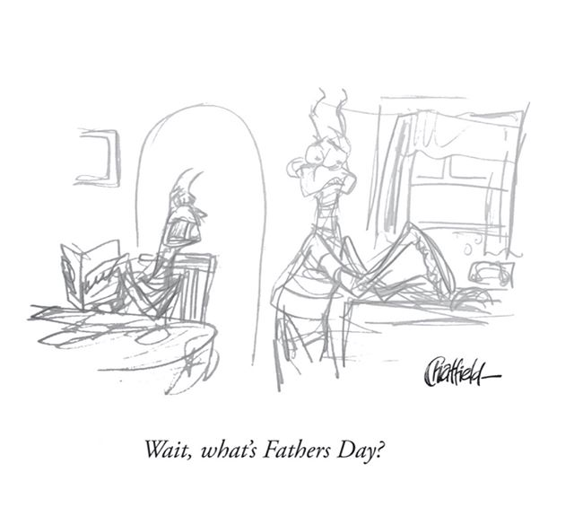 Old Fathers Day rough from last year.⁣⁣ ⁣⁣#PrayingMantisJokes #FathersDay #HappyFathersDay