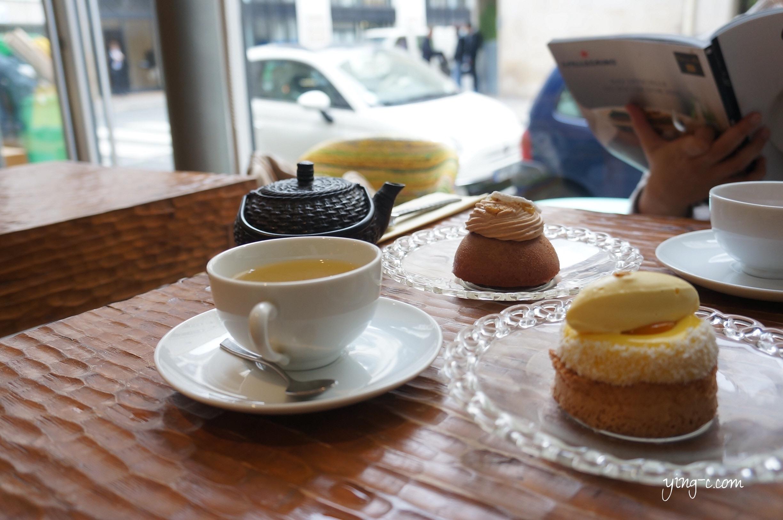 點一壺茶、搭配美味的甜點,和好友一起享受悠閒的時光。