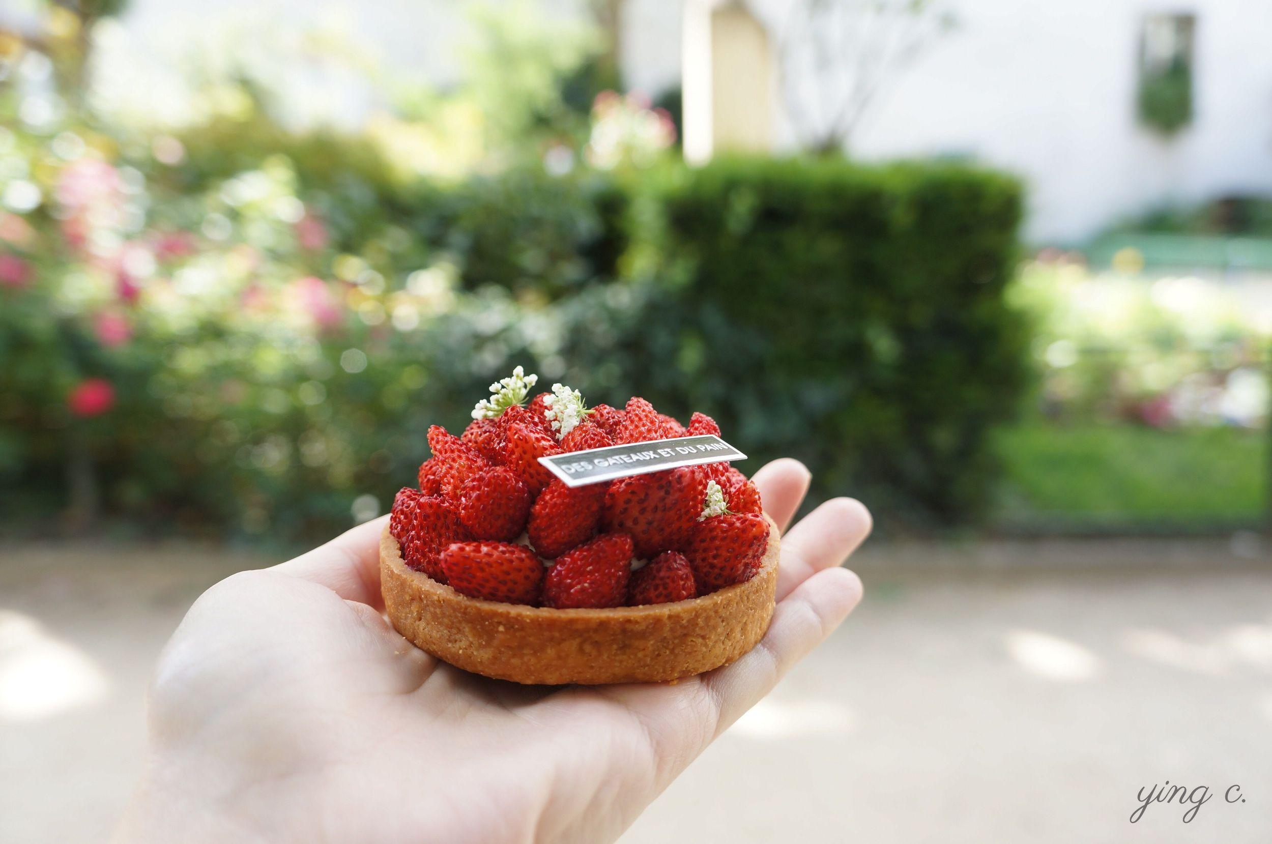 圖11.「Fragaria Vesca」野莓塔側面照。 透過這次的專欄,你現在是不是也看得出來怎樣的塔皮算是工整漂亮呢?(攝影:Ying Chen)