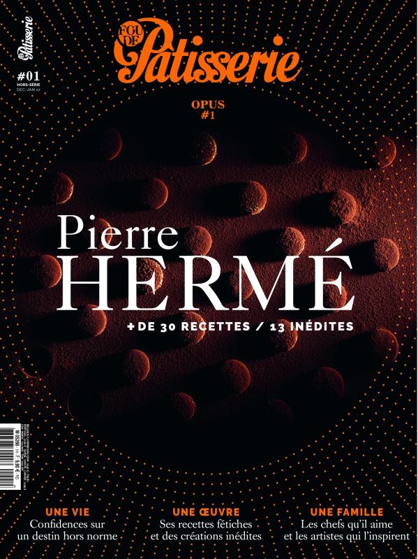 圖2:《Fou de Pâtisserie》2016 年 12 月發行的 Pierre Hermé 特刊封面。(圖片來源: 《Fou de Pâtisserie》 )