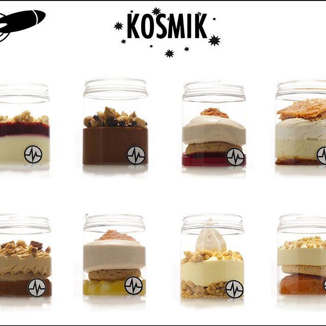 圖6. Kosmik 系列杯子甜點(圖片來源:Christophe Michalak 的  Instagram 頁面 )