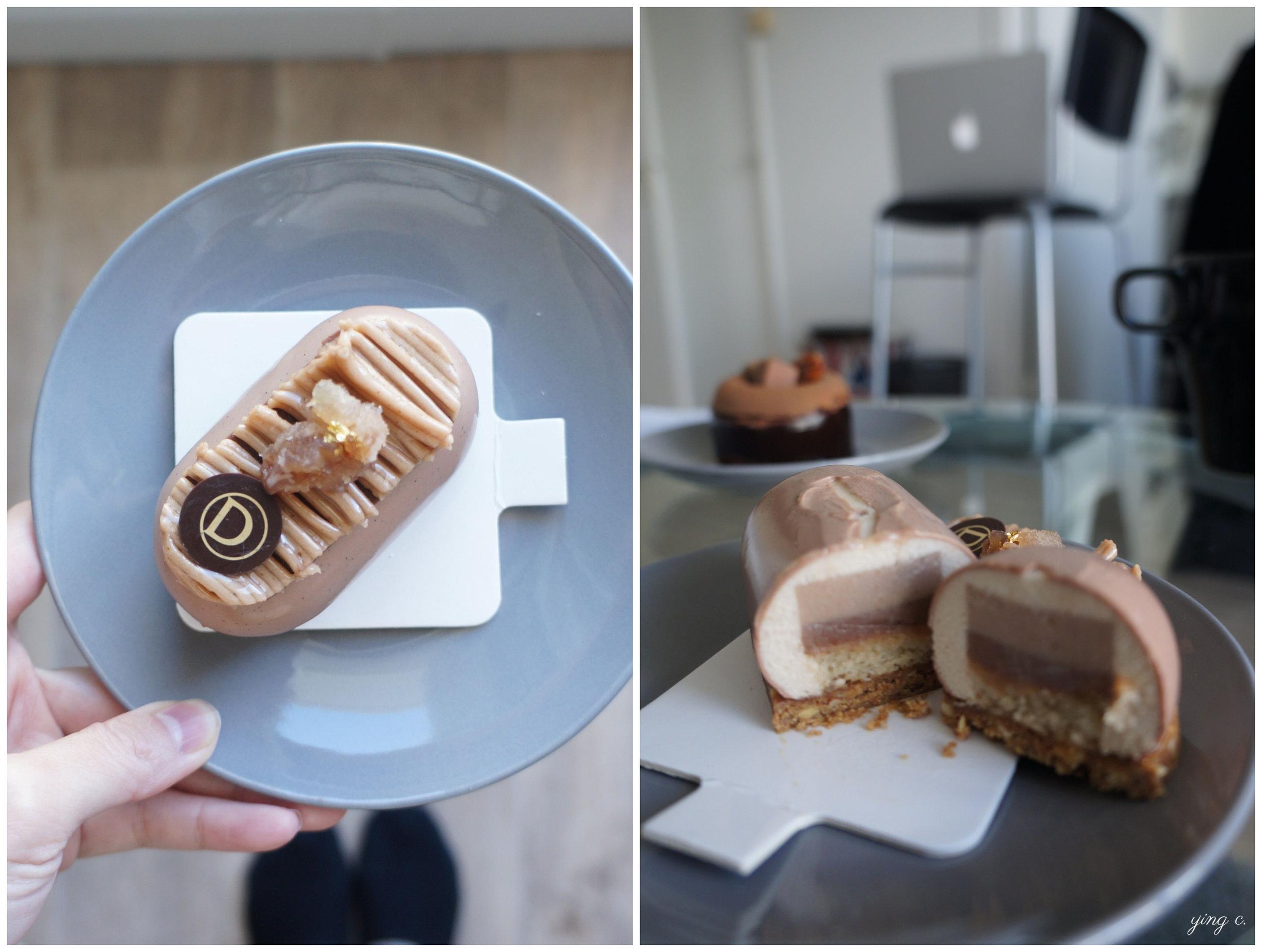 Mont Marron - Jérémy Del Val主廚對經典法式甜點蒙布朗的重新詮釋。