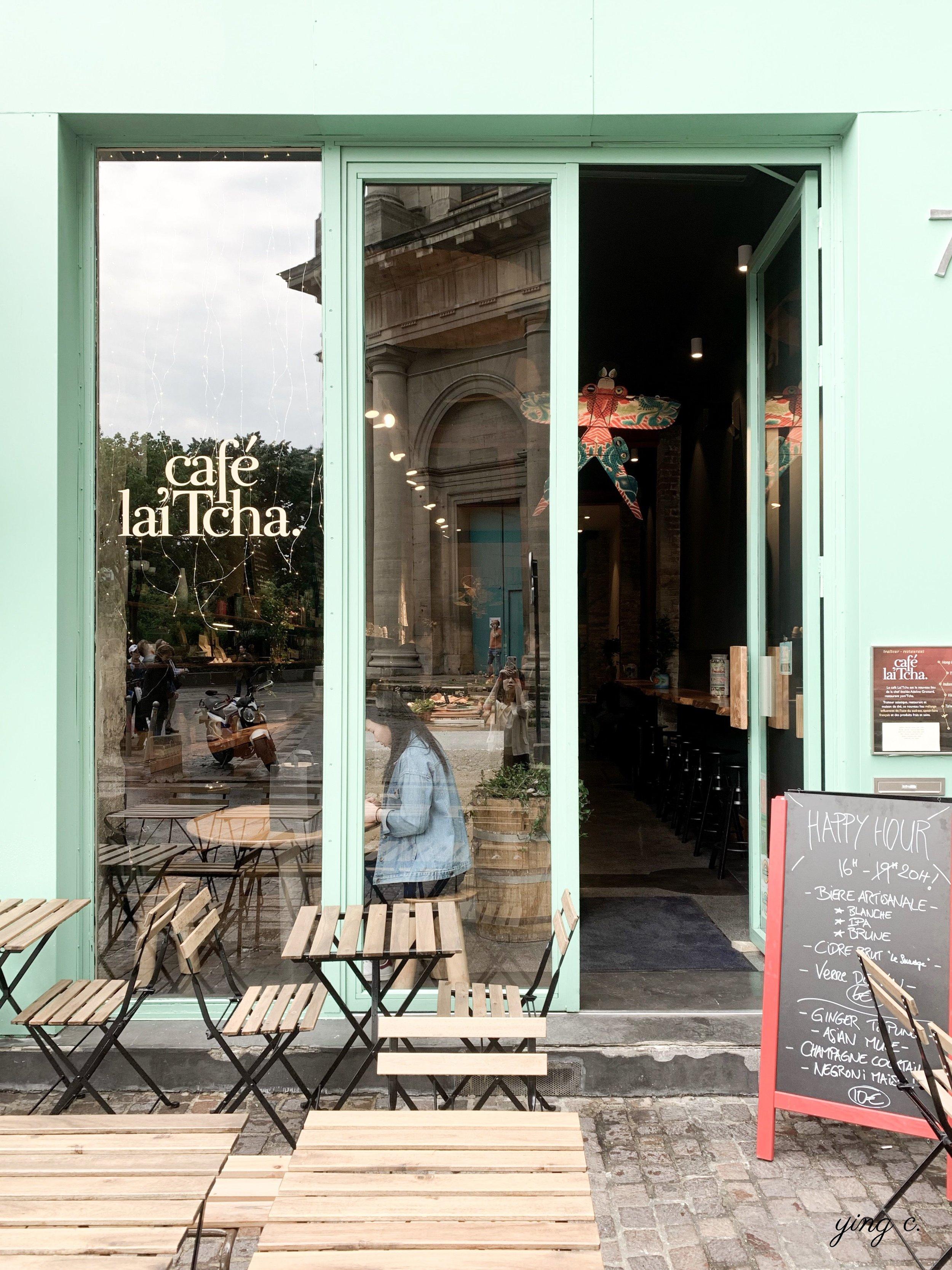 Café Lai'Tcha 的店面。