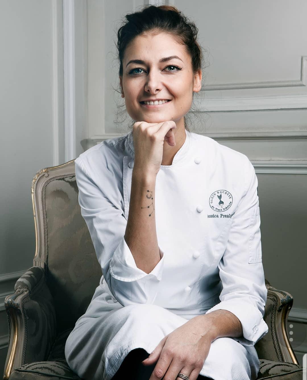 巴黎五星級酒店 Hotel Plaza Athénée 三星餐廳甜點主廚 Jessica Préalpato,日前獲得世界50最佳餐廳頒發「2019 全球最佳甜點主廚」桂冠。(照片來源:Instagram| @jessicapréalpato )