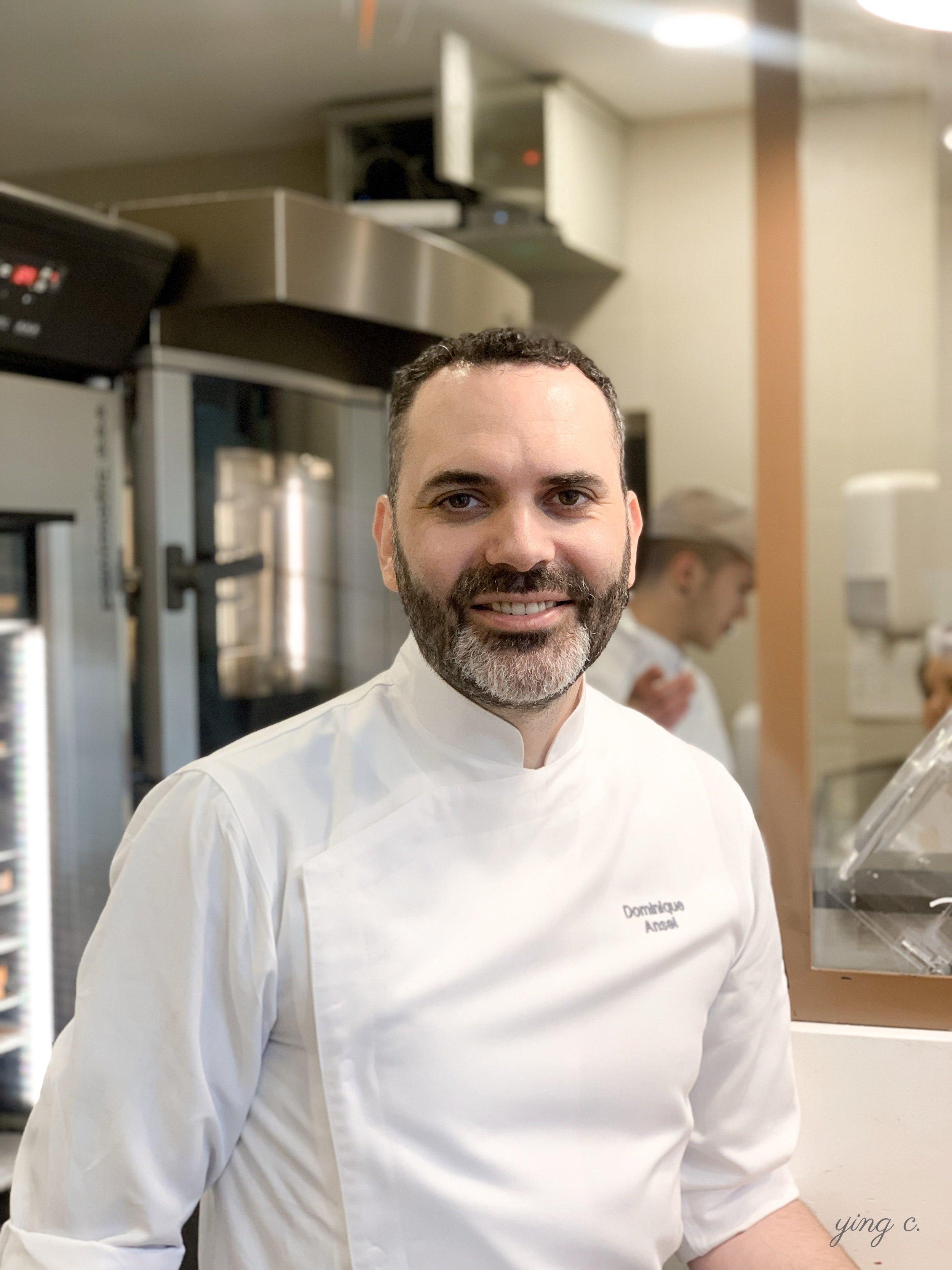 今年五月應邀至 Yann Couvreur 甜點店客座的  Dominique Ansel  主廚。