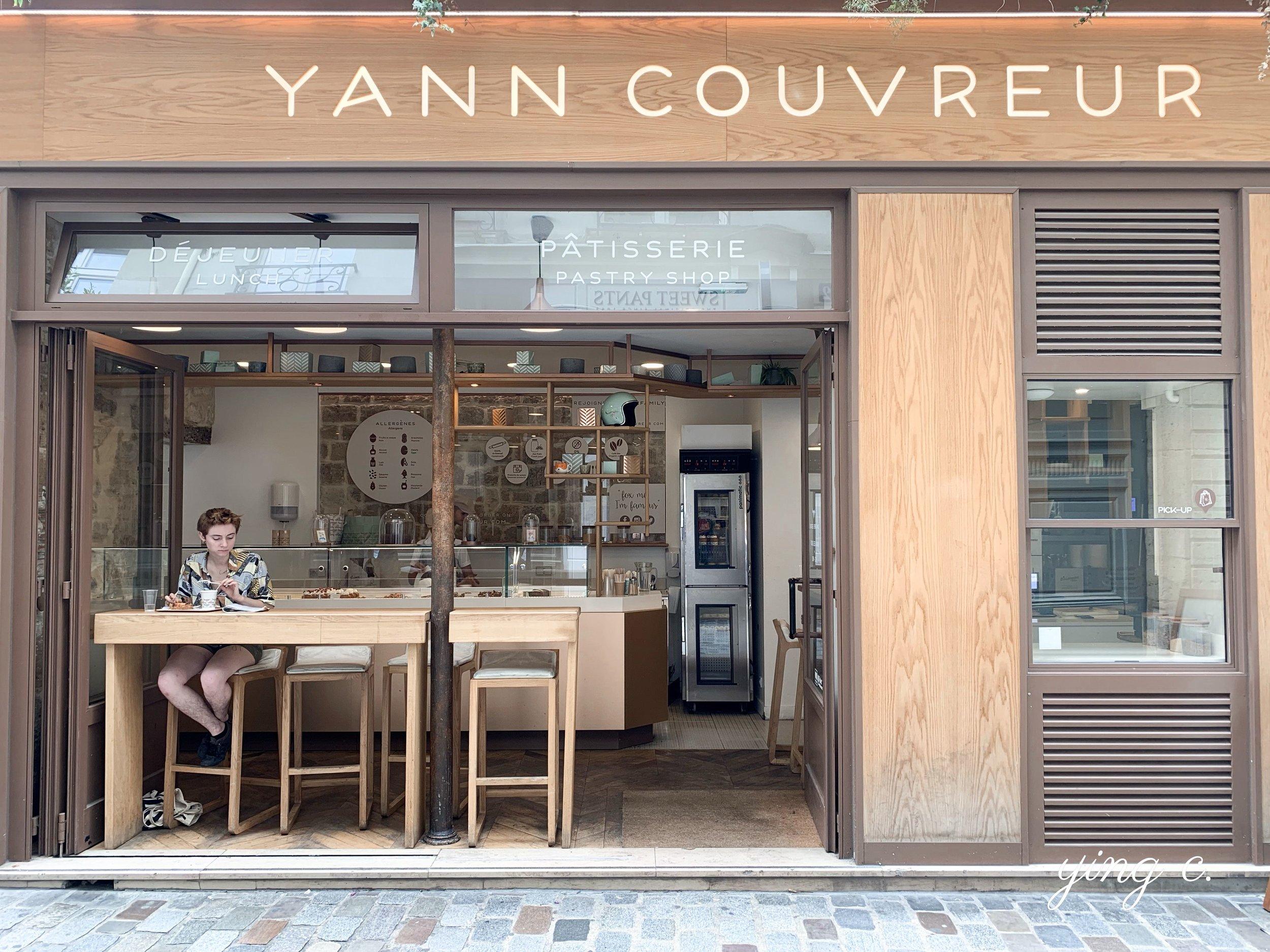 Yann Couvreur 主廚在瑪黑區的第二家店面。