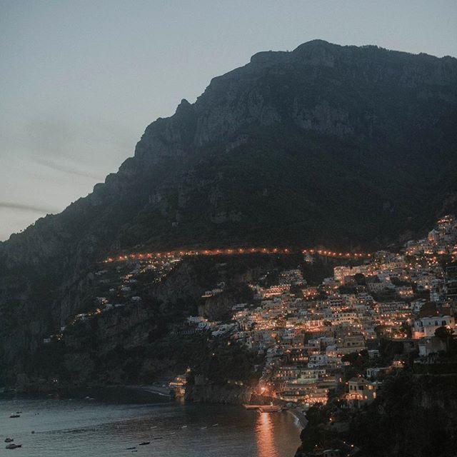 Dreamy city on the coast