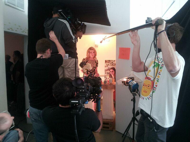 Shooting Nadine & Franny for Episode 203