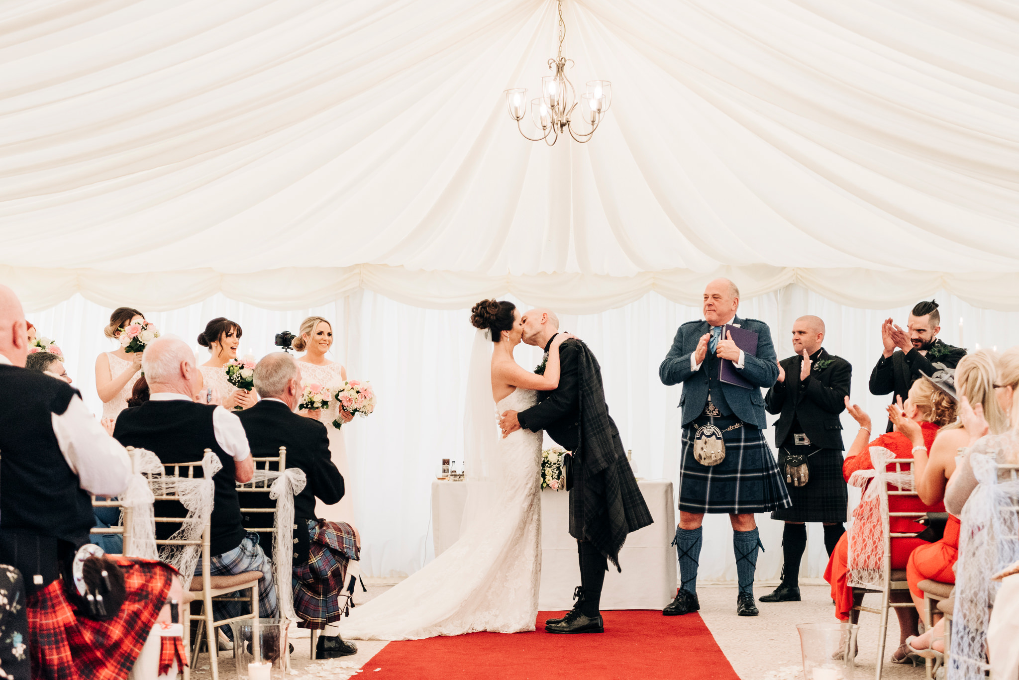 cornhill castle wedding photographer