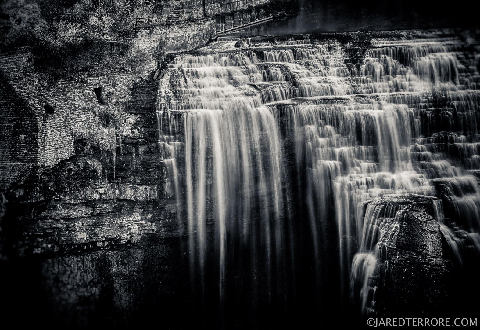 Lower Falls: Interpreted