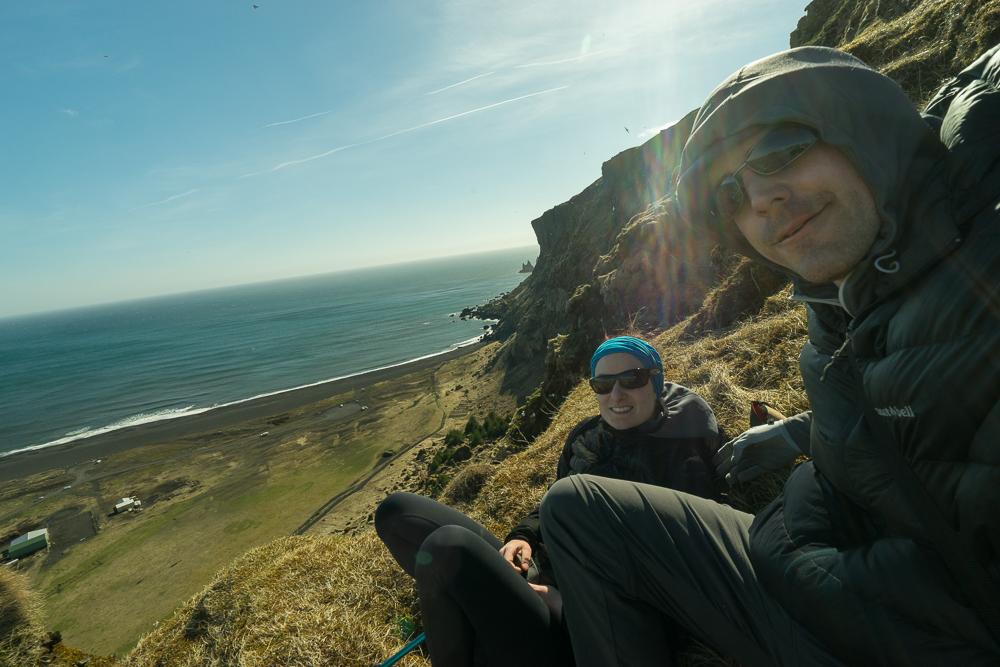 The Cliffs of Reynisdrangar