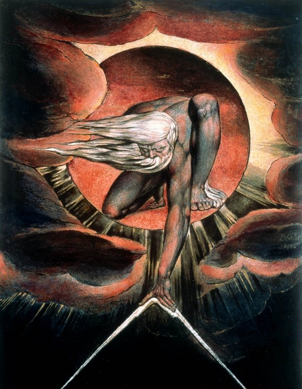 The Ancient of Days -William Blake-
