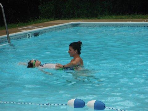 American Red Cross swim program