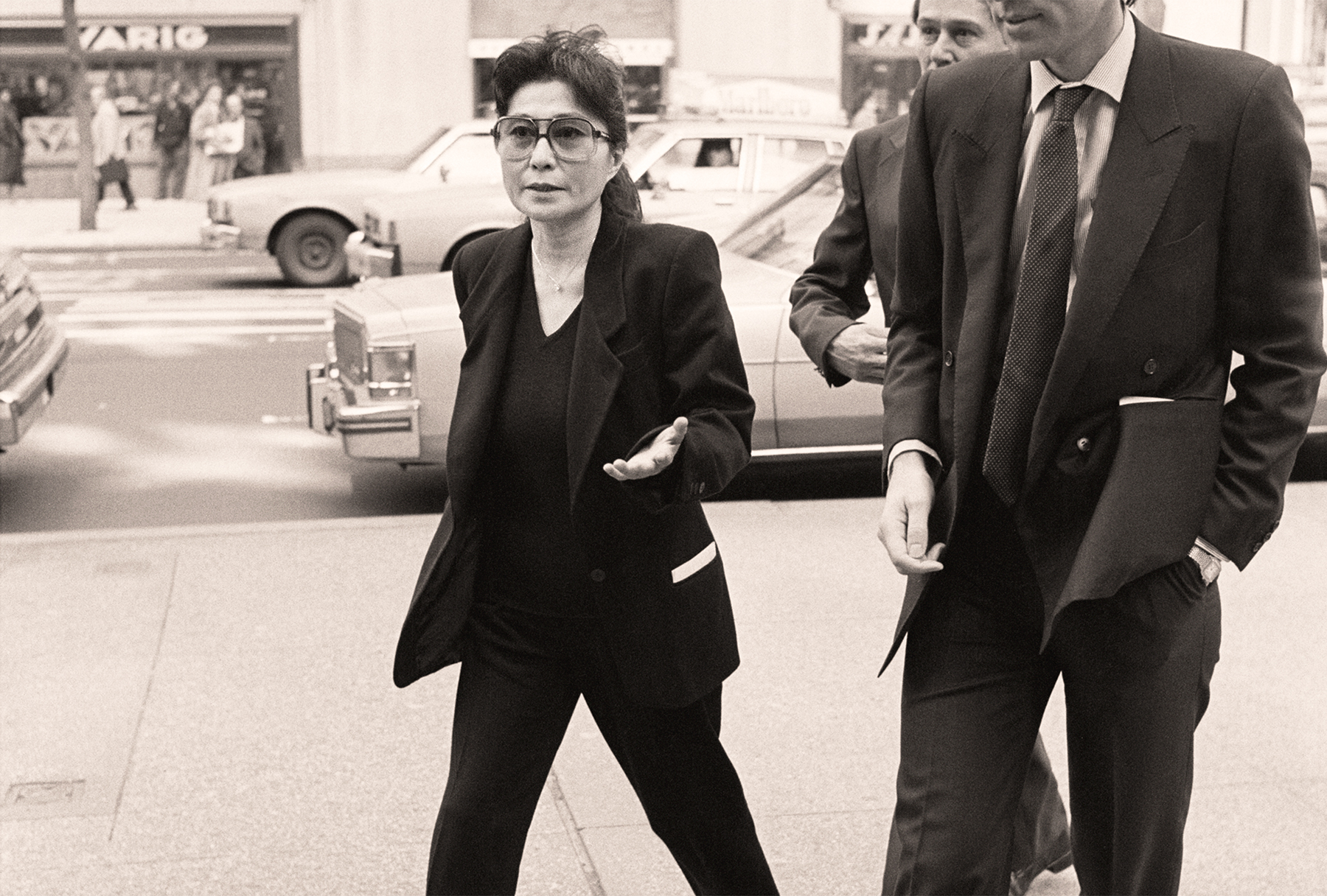Yoko Ono and Guest