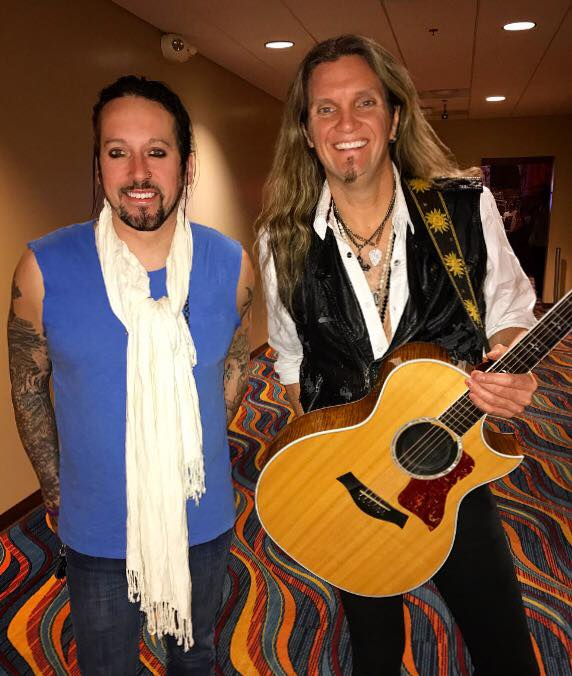 Brandon Gibbs and Joel Hoekstra
