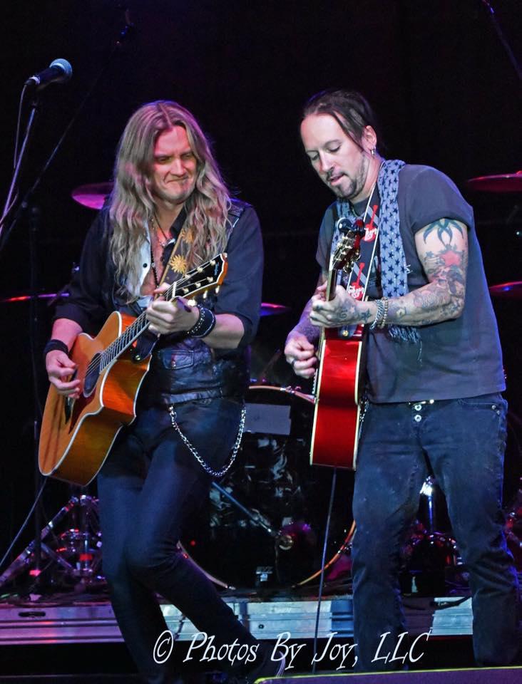 Joel Hoekstra and Brandon Gibbs acoustic show