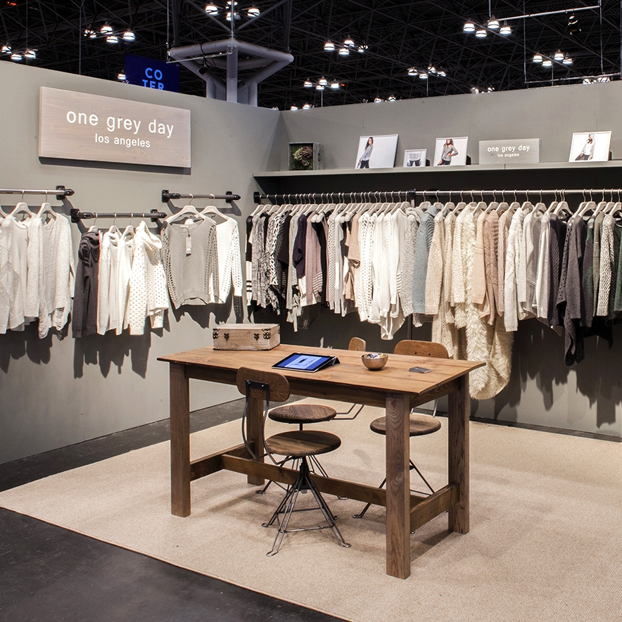 Custom Exhibit Design - One Grey Day Trade Show Booth