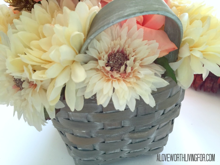 Easy Floral Fall Center Piece DIY by A Love Worth Loving For 009.jpg