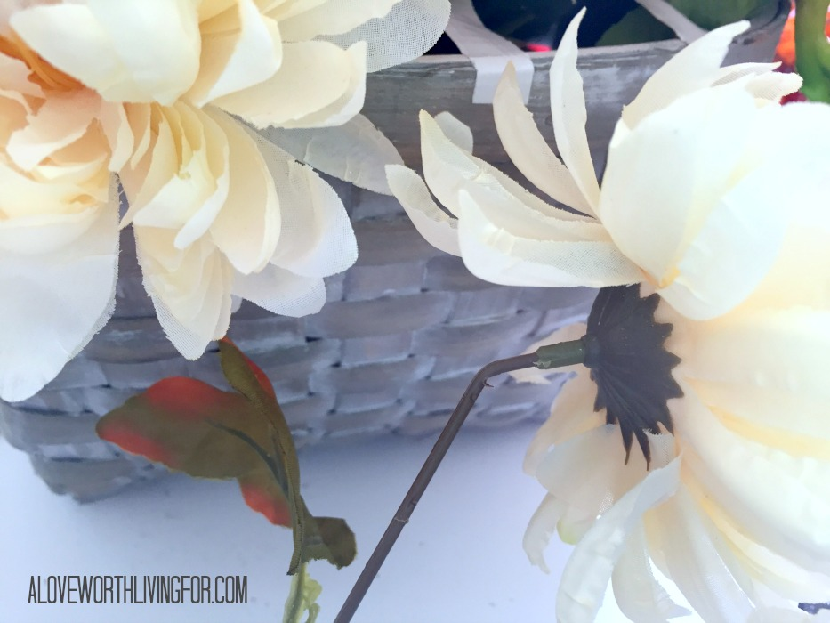 Easy Floral Fall Center Piece DIY by A Love Worth Loving For 010.jpg