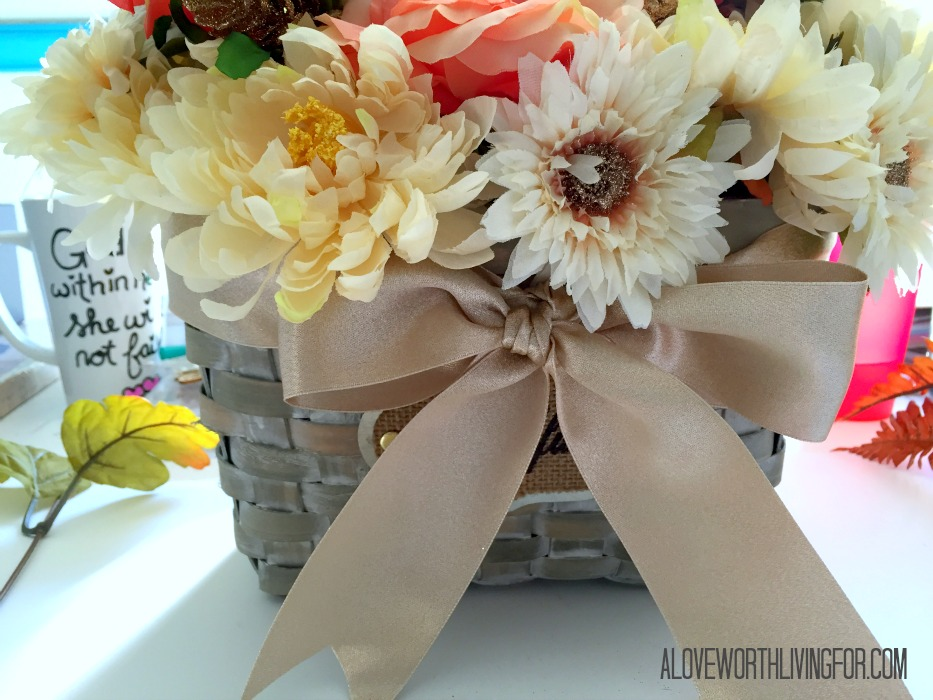 Easy Floral Fall Center Piece DIY by A Love Worth Loving For 012.jpg