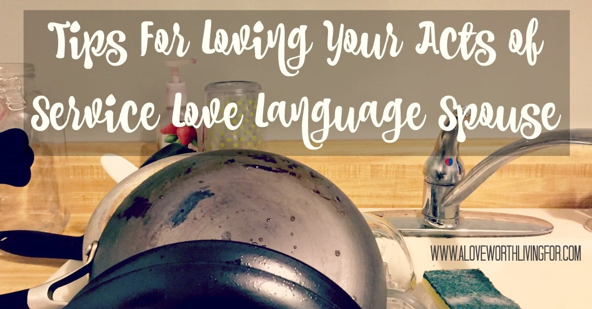 People receive love in different ways. Learning to show love in ways that are foreign to you could be like learning to speak a whole new language. These tips will help you show love to the service focused people in your life.
