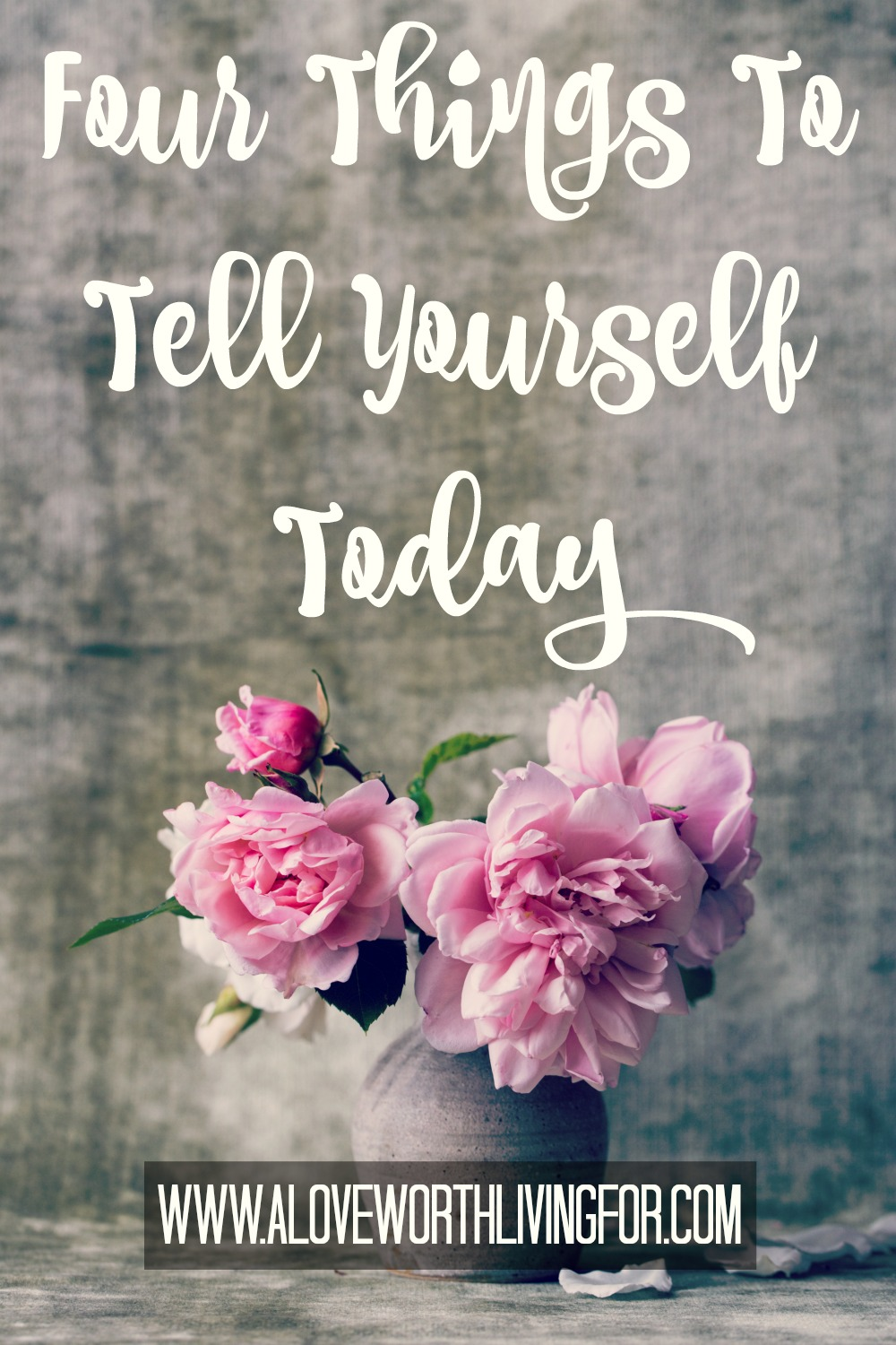 Be kind to yourself. It is often said, that if we were to say to & of others what we are saying to ourselves all day we would be labeled abusive. Stop mentally abusing yourself. Here are four things to tell yourself today!
