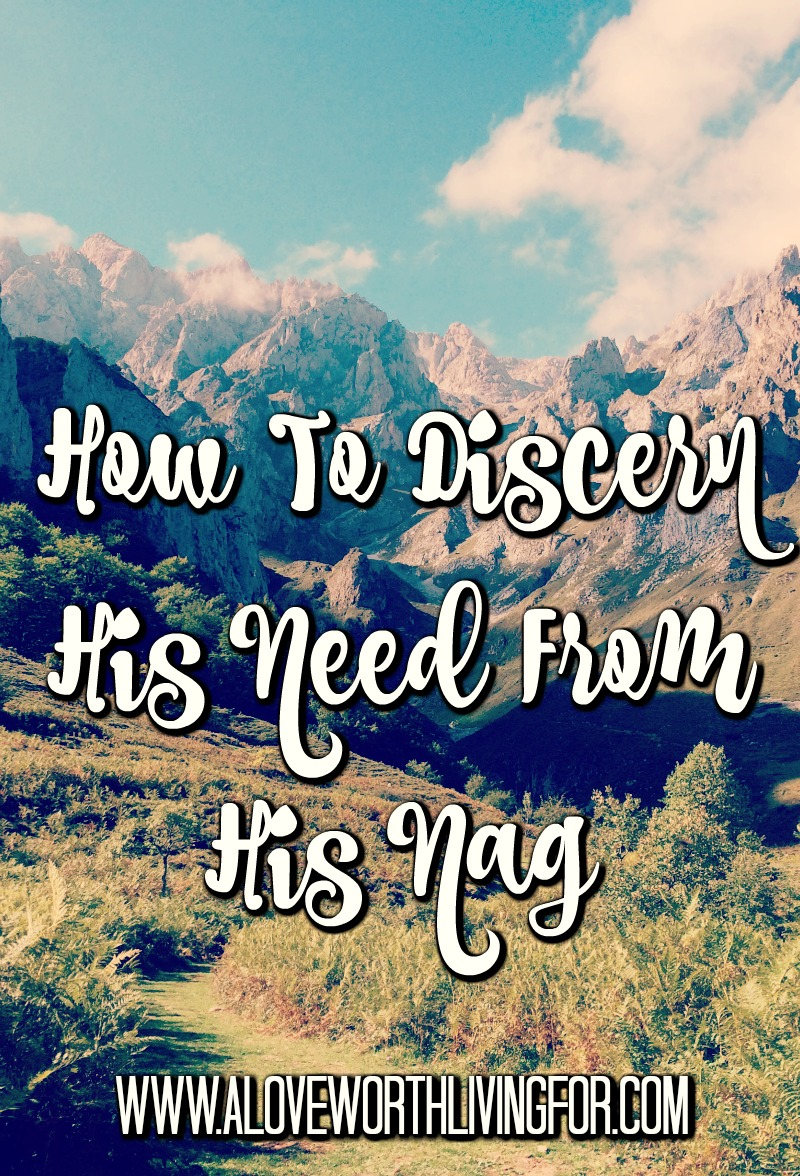 Sometimes grace and patience is needed to look past the presentation and see to the heart of our spouse to discern what they are actually needing. It's hard, but if connection is your goal, it is totally possible. This article shares how.