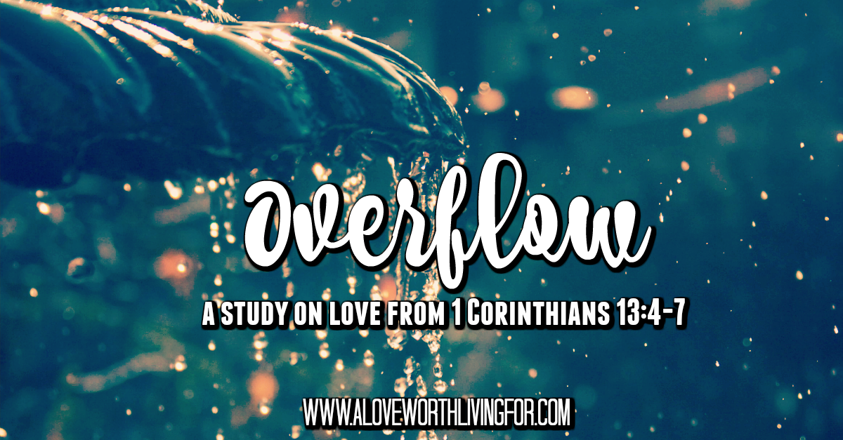 We can't produce the kind of love we see in 1 Corinthians 13 on our own. We can receive it, though. This study is to show you how incredibly loved you are. Join us for this 10 week study!