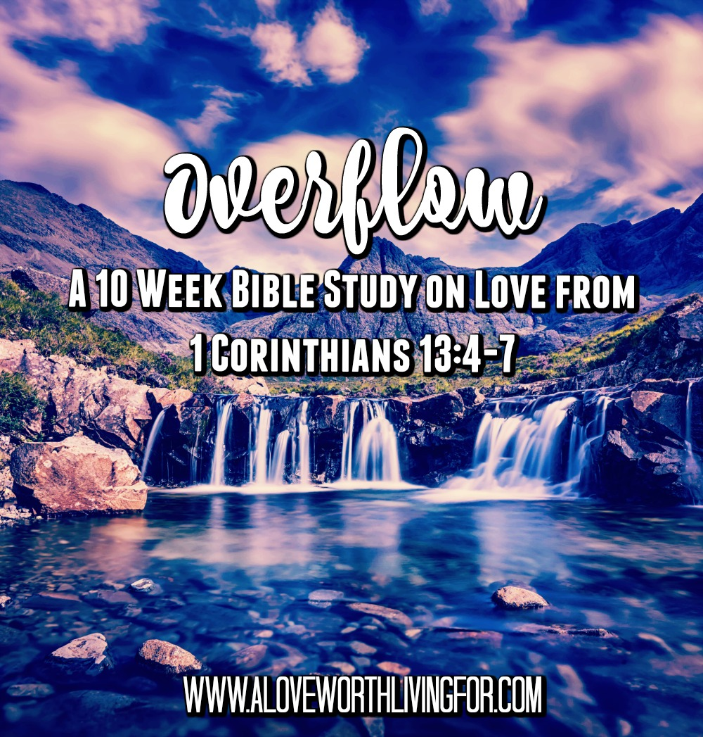 1 Corinthians 13 tells us that love does not envy or boast. This is actually a huge deal and I can tell you why in part three of our 10 week bible study on love!