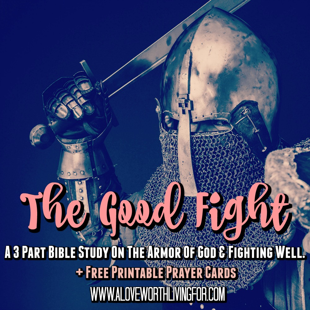 Life is a real battle sometimes. How well are you fighting? Do you feel like you are constantly loosing ground? If so this four part bible study on Spiritual Warfare is for you. Let get you armed for victory.